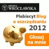 Thumbnail image for Konkurs na najlepszy blog o oszczędzaniu 2012 – pomożesz mi?