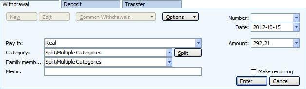 Split, czyli podział transakcji