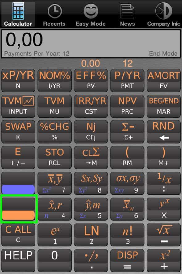 Kalkulator finansowy 2