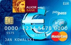 Kantor internetowy karta walutowa