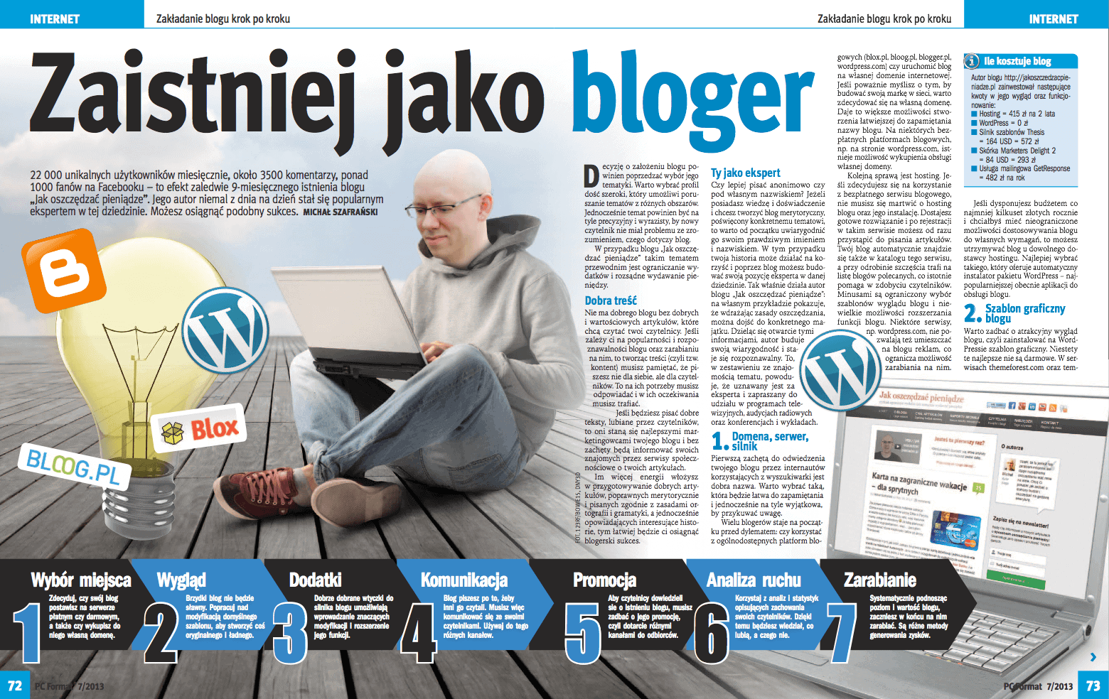 Zaistniej jako bloger