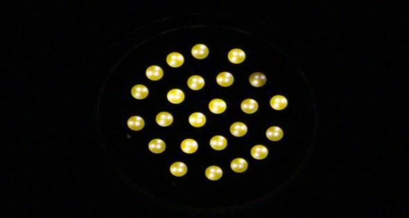 LED się żarzy