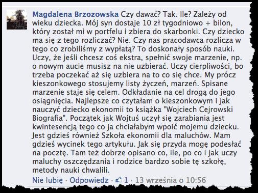 Kieszonkowe - Magda