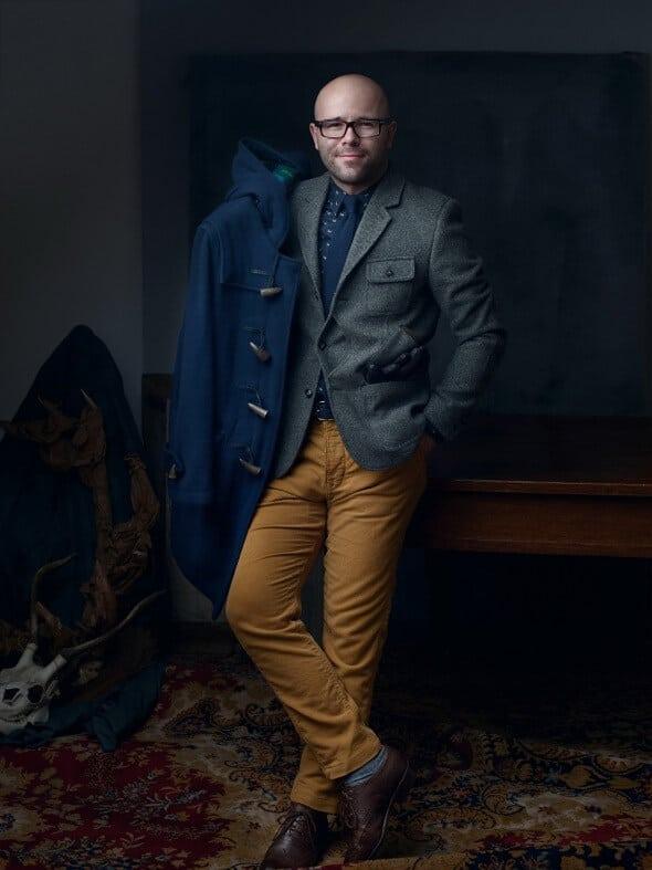 Mr Vintage płaszcz