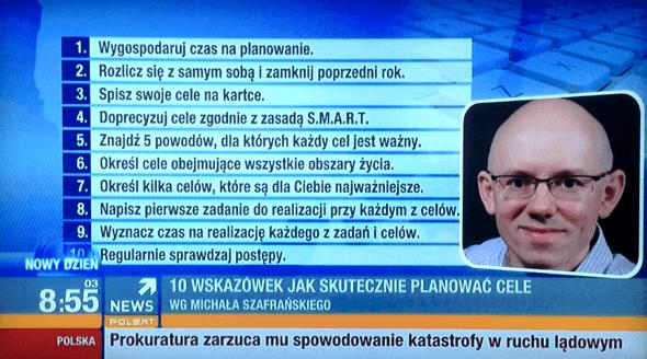 Michał w Polsat News