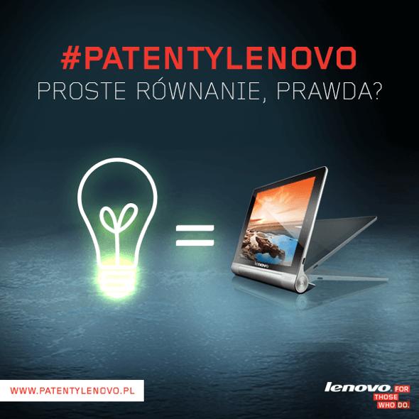 Patenty Lenovo