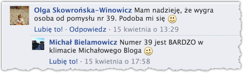 Przewidywania na Facebooku