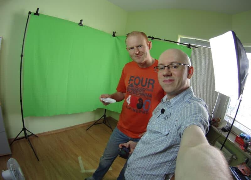 Zrobiliśmy to! - domowe studio wideo Michała