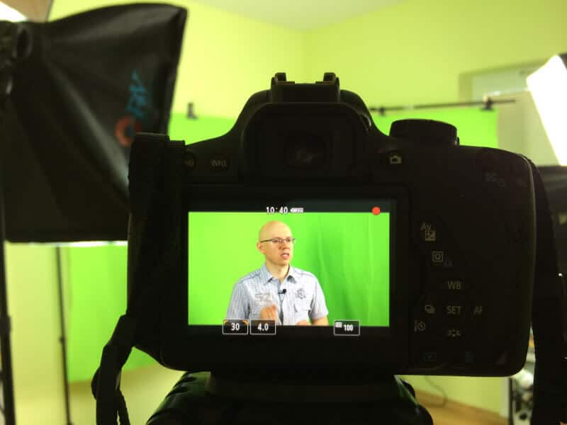 Kamera, akcja! - domowe studio wideo Michała