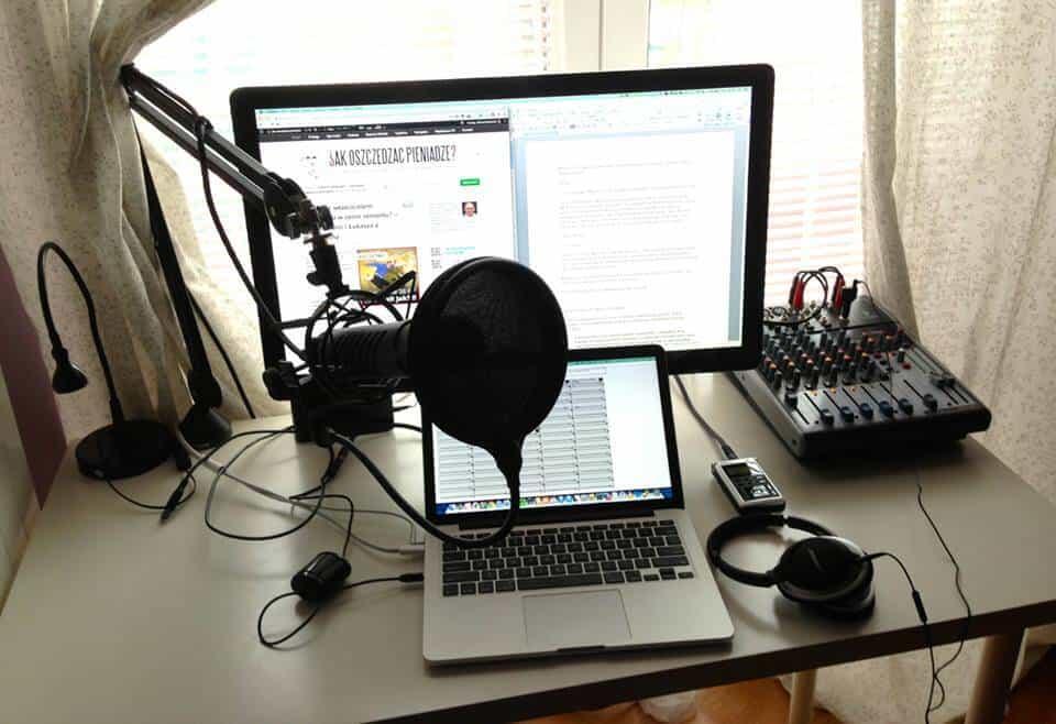 Konfiguracja studia do podcastów