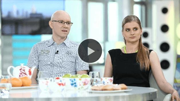 """Agnieszka i ja mówimy o długach w """"Dzień dobry TVN""""."""