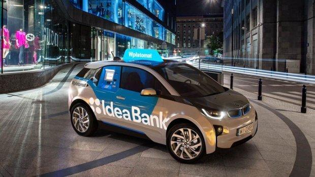 Mobilny wpłatomat Idea Bank