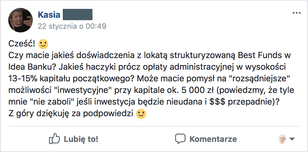 Lokata strukturyzowana elite funds