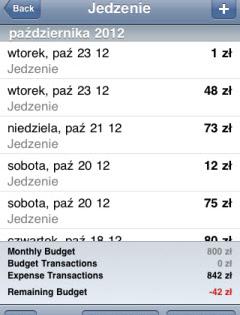 Thumbnail image for Jak Dorota opanowała swój budżet domowy, czyli Budget dla iPhone