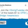 Thumbnail image for Wpis ważny tylko przez jeden dzień! #GivingTuesday dla PAH