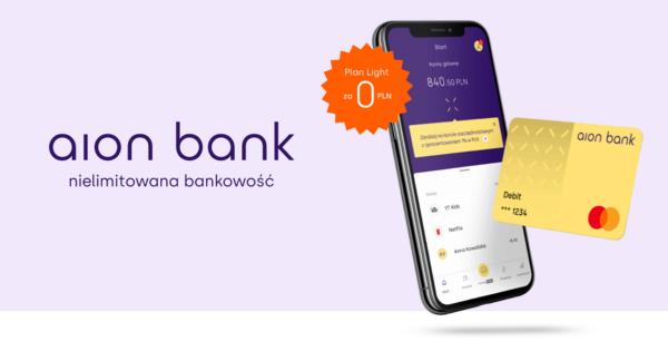 Thumbnail image for Ruszył cyfrowy Aion Bank = bank na abonament dający masę nielimitowanych usług bez haczyków i ukrytych opłat