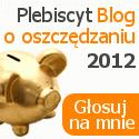 """Konkurs na najlepszy """"Blog o oszczędzaniu 2012"""""""