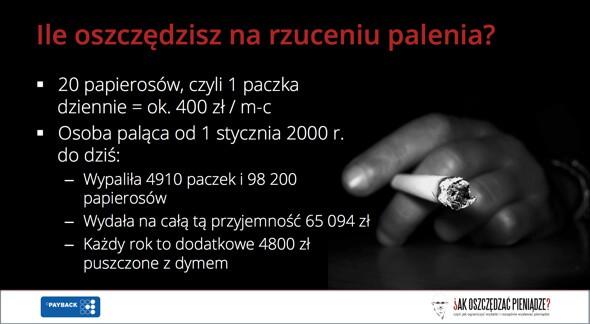 Jak oszczędzać na paleniu