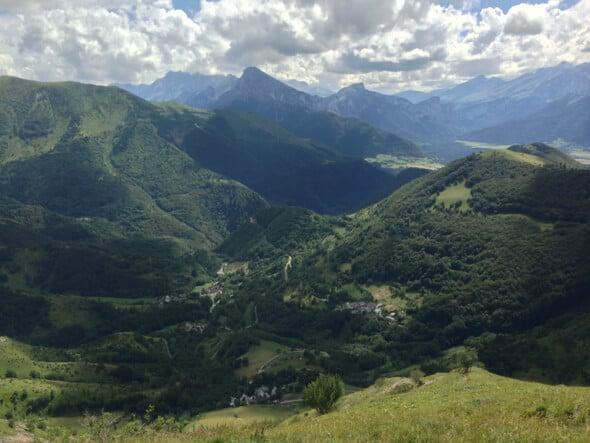 Widok z La Salette