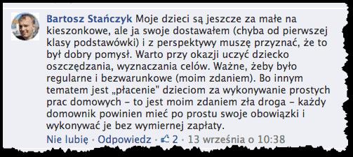 Kieszonkowe - Bartek