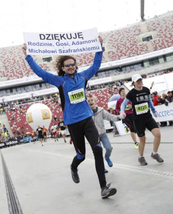 Maraton Paweł Krzos