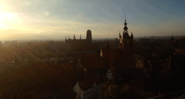 Gdańsk o poranku