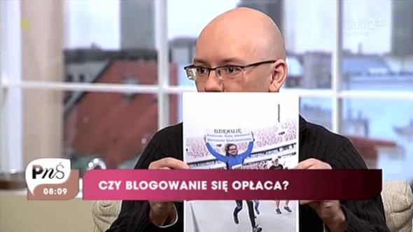 Paweł Krzos w TVP2