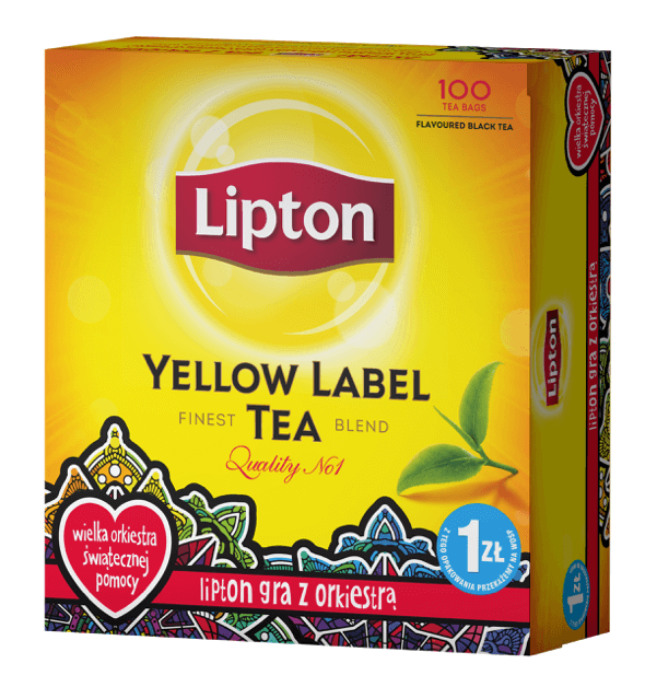 Lipton z WOŚP