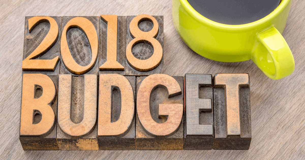 Szablon budżet domowy 2018