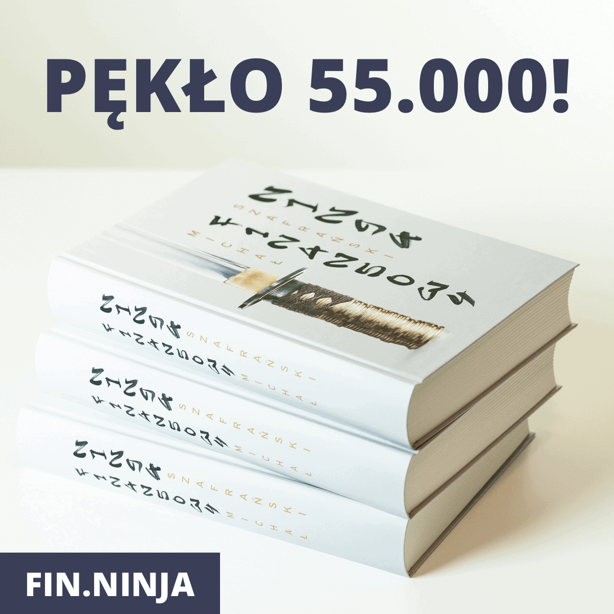 55.000 sztuk FinNinja