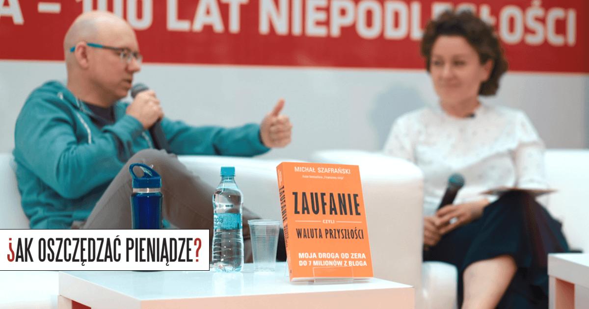Spotkanie autorskie Michał Szafrański