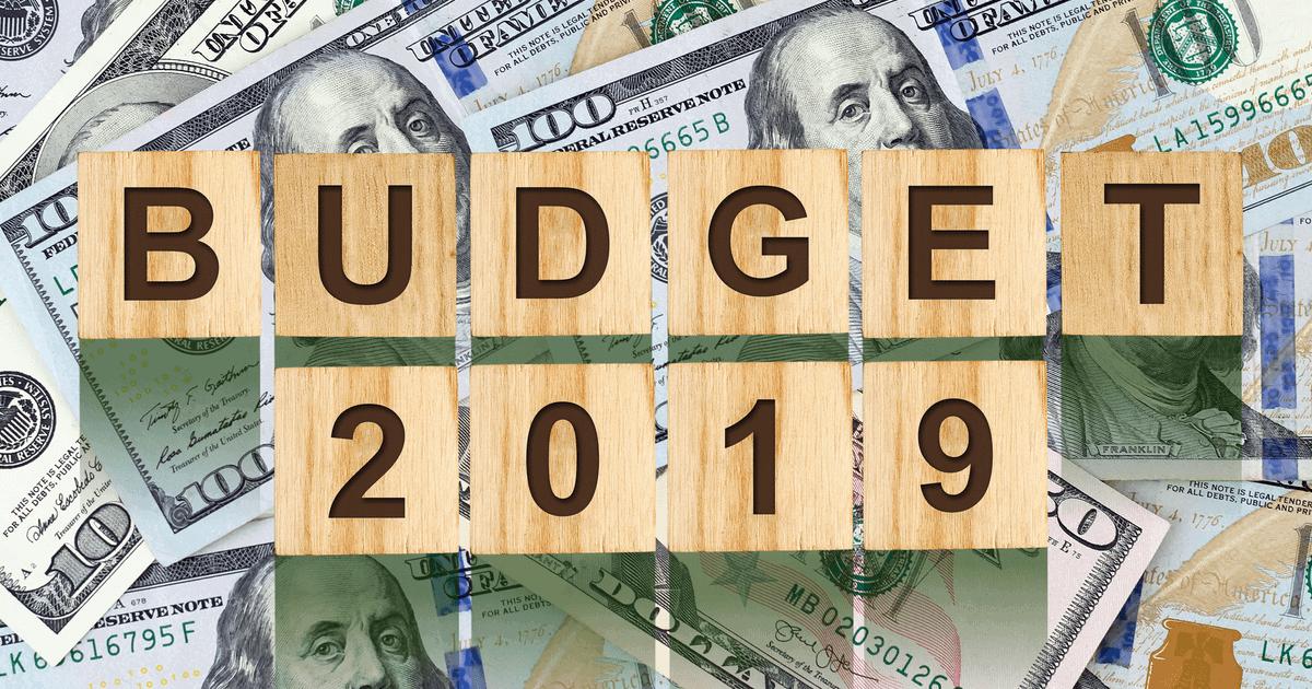 Szablon budżet domowy 2019