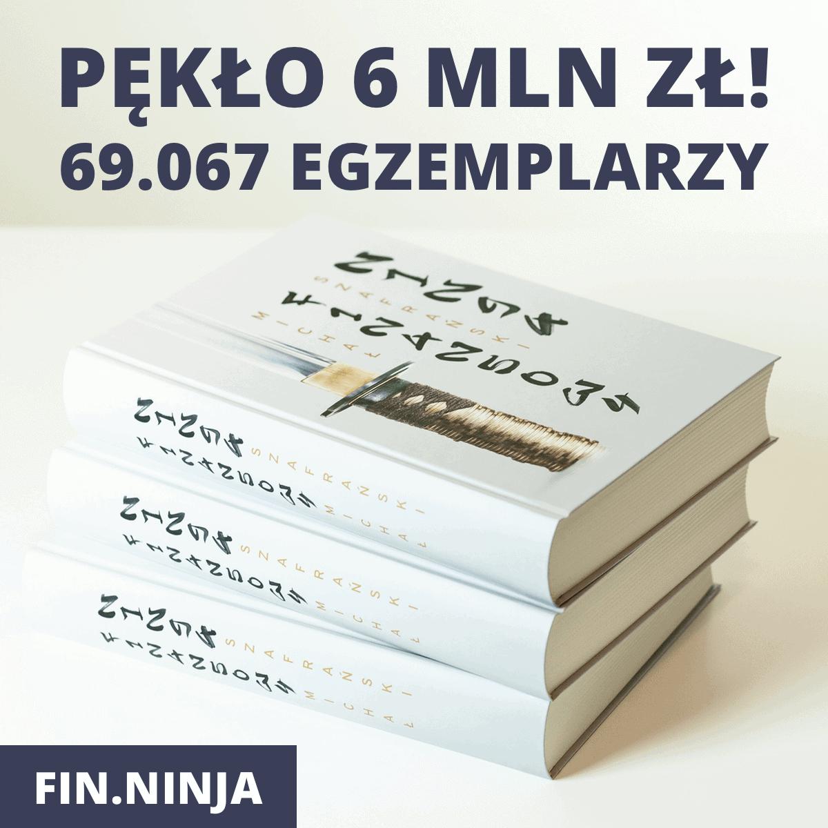 69.067 sztuk FinNinja
