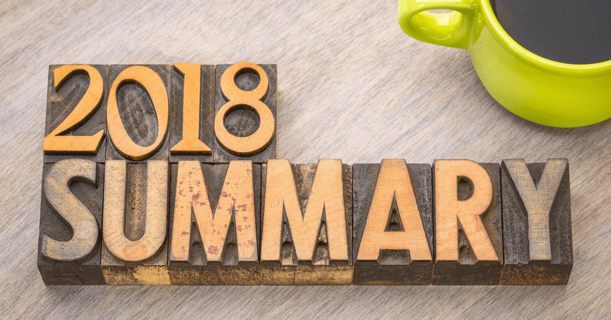 Blog wart miliony - podsumowanie 2018