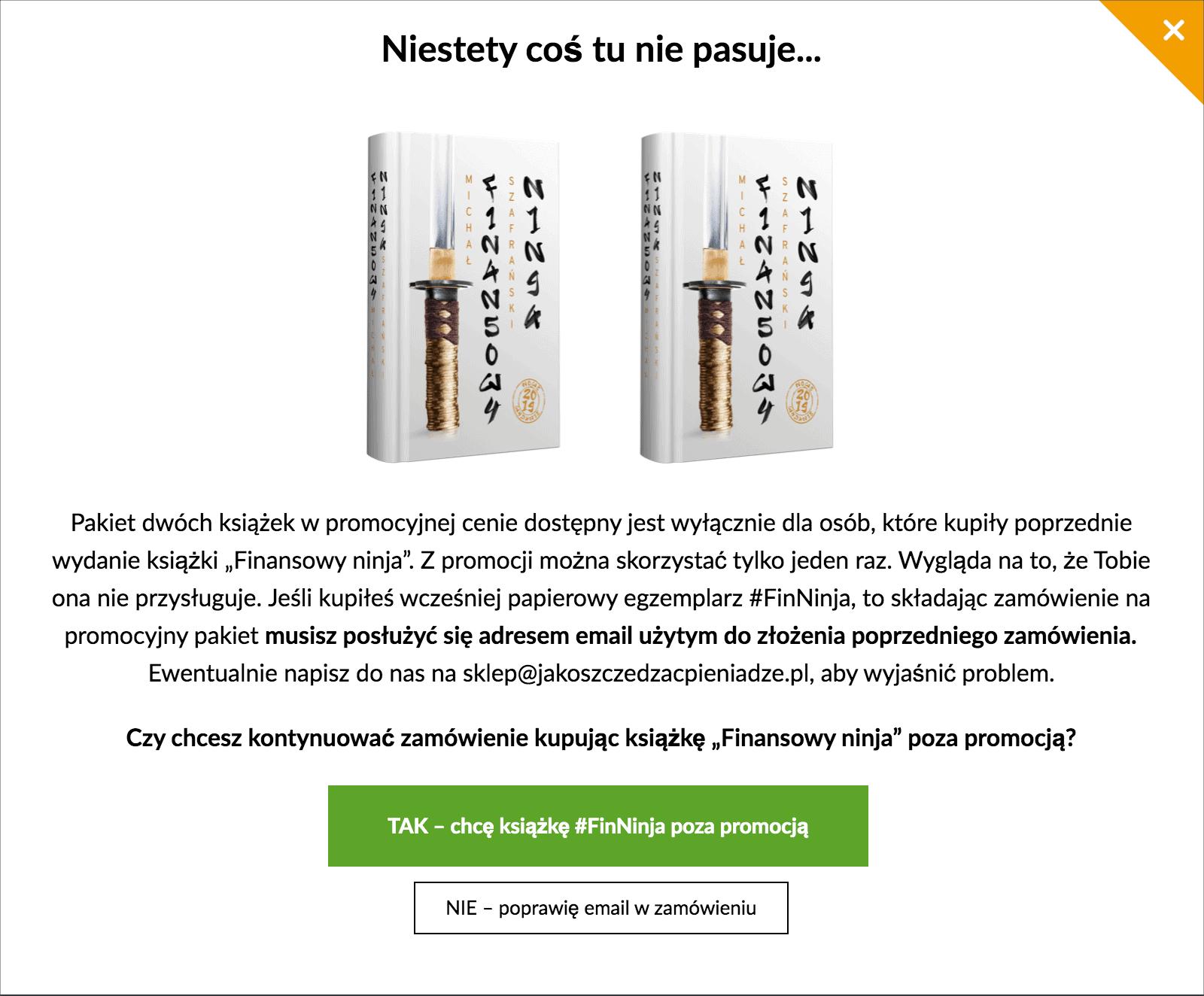 FinNinja bez promocji
