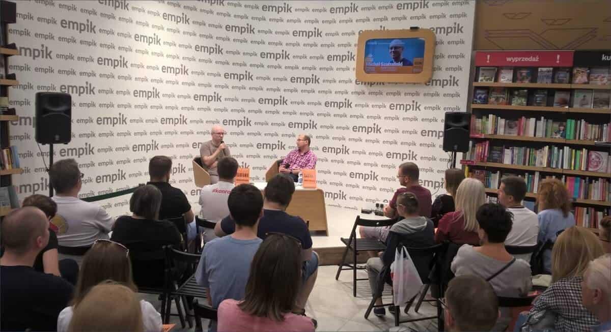 Spotkanie autorskie Łódź