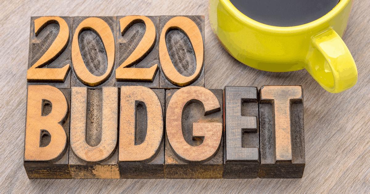 Budzet domowy 2020 szablon