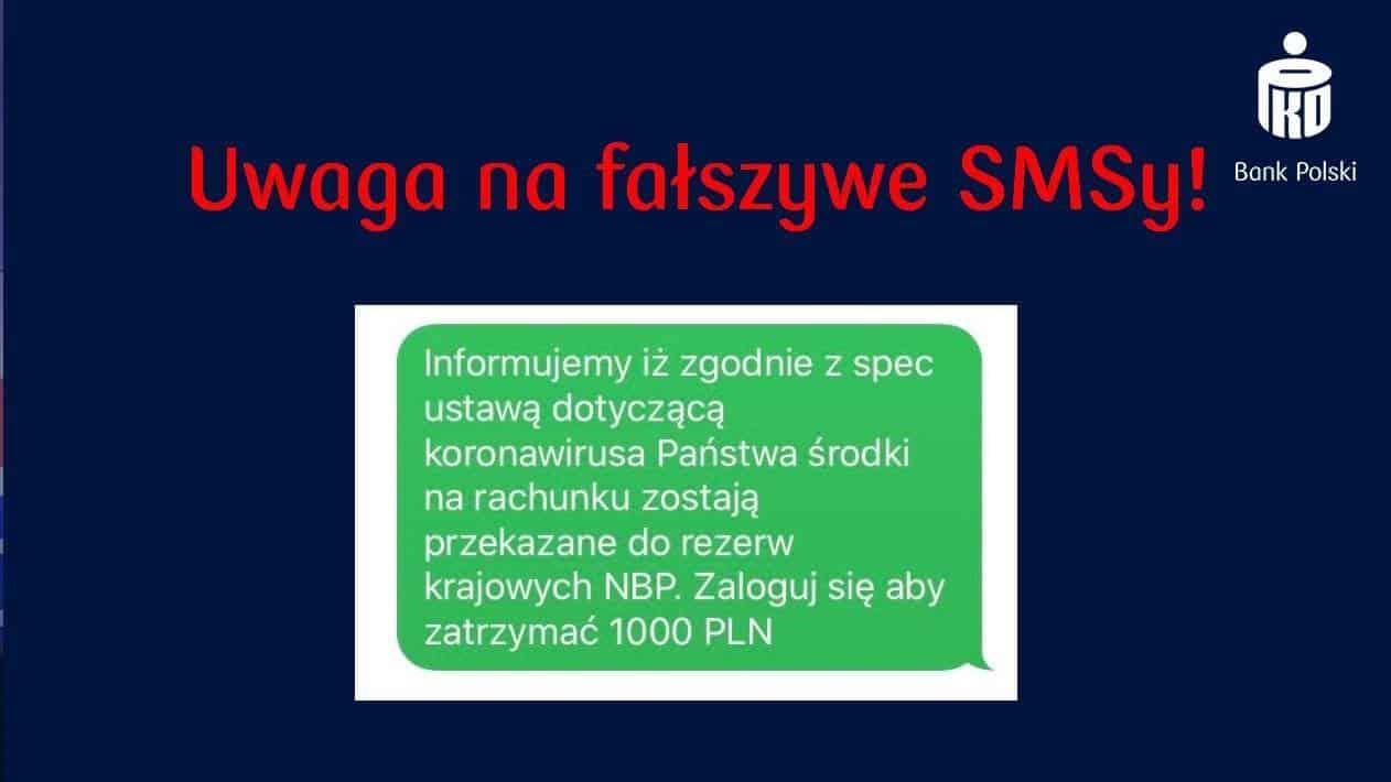 Fałszywe SMS