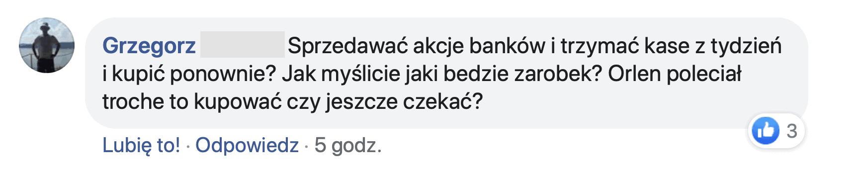 Czy sprzedawać akcje banków