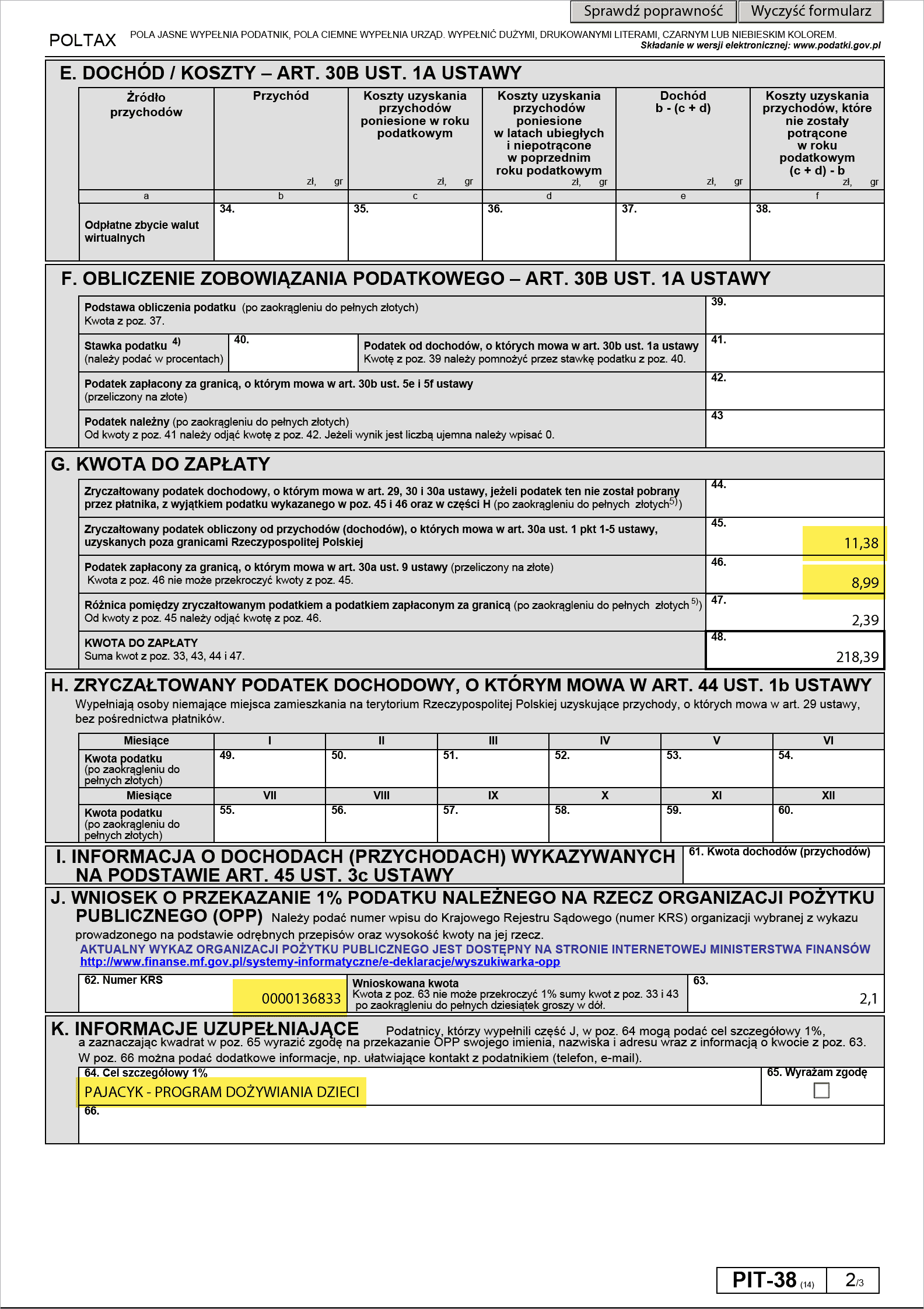 Jak obliczyć podatek za sprzedaż akcji za granicą