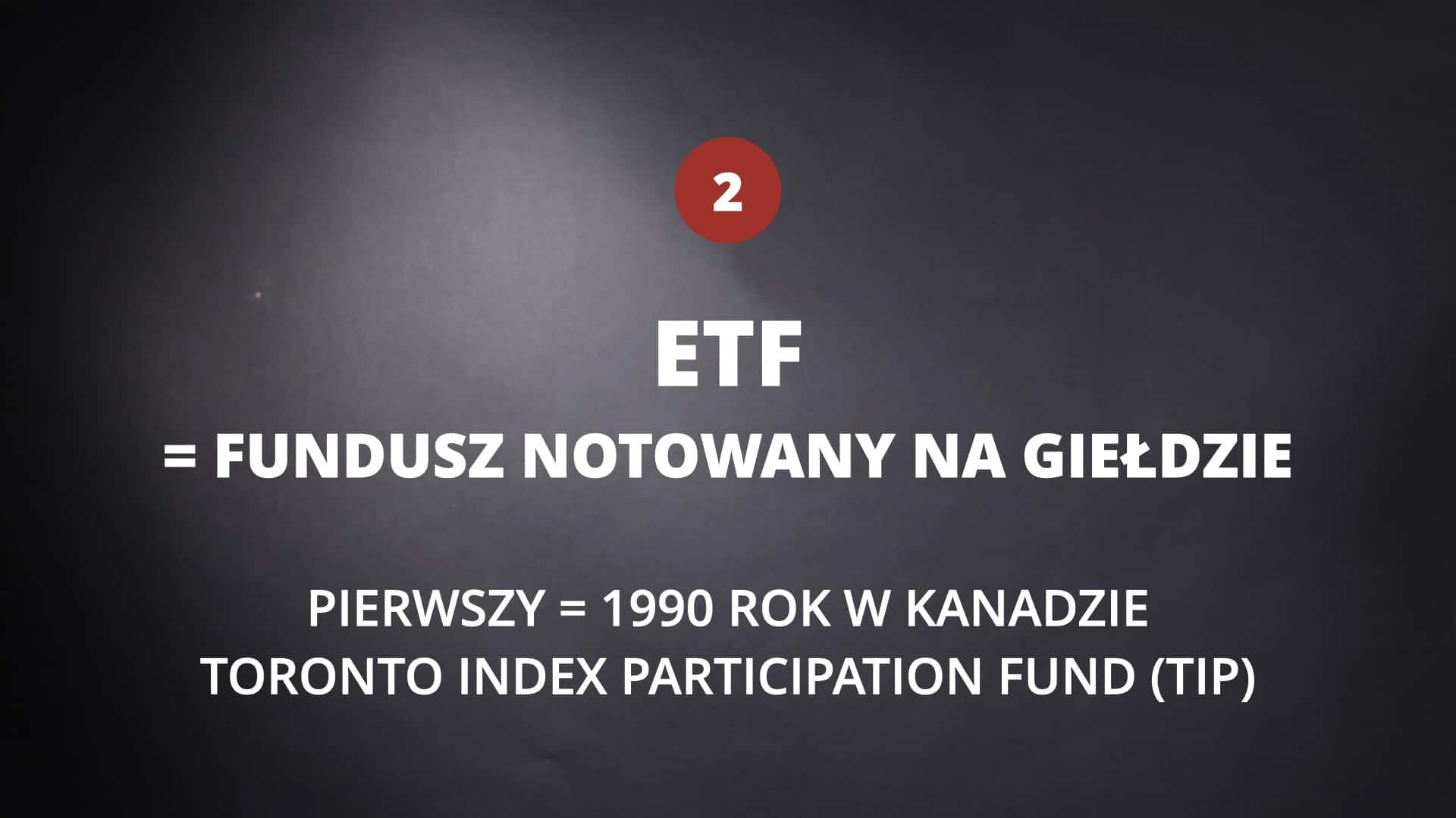 Pierwszy ETF Kanada