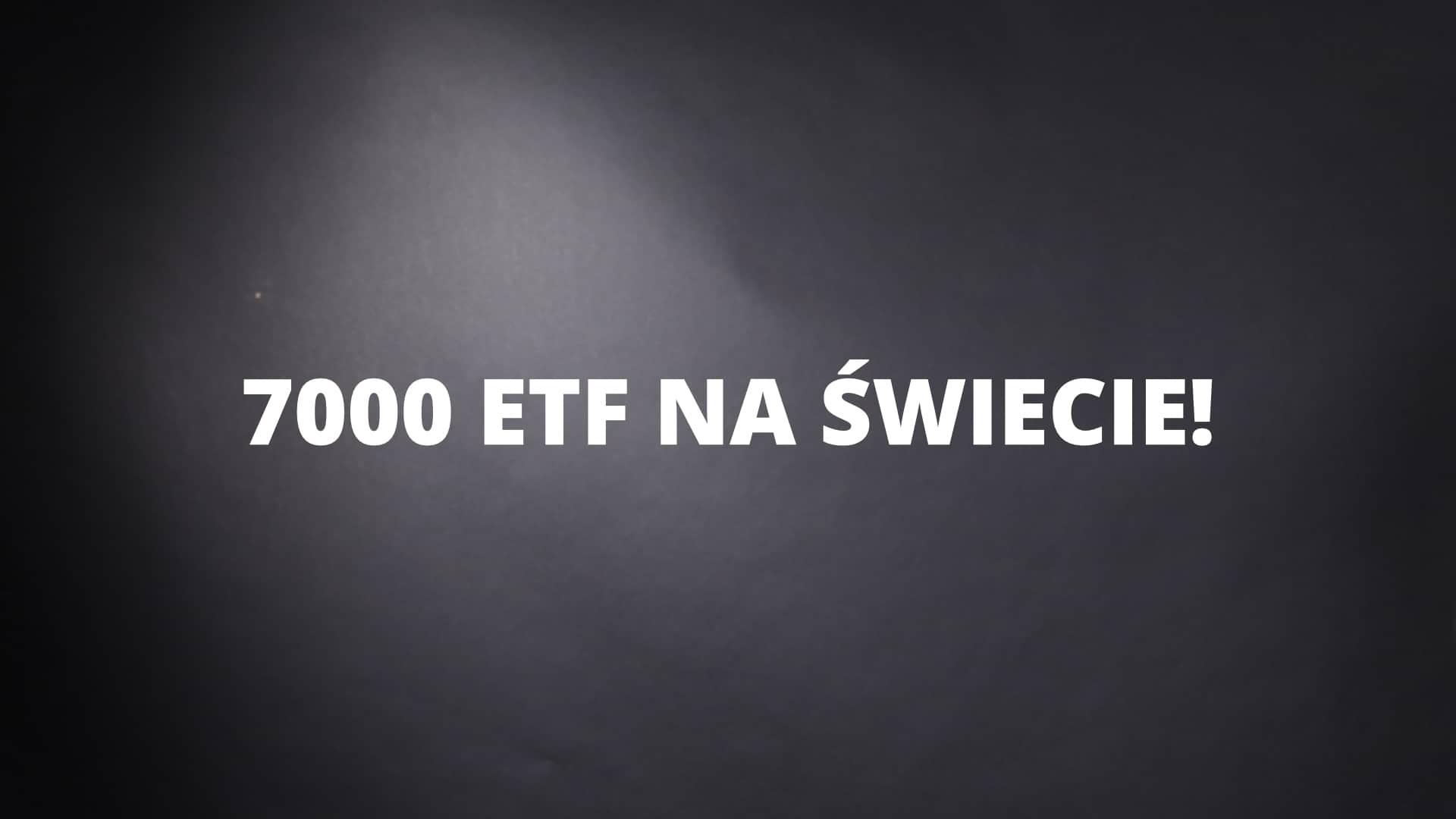 Liczba ETFów