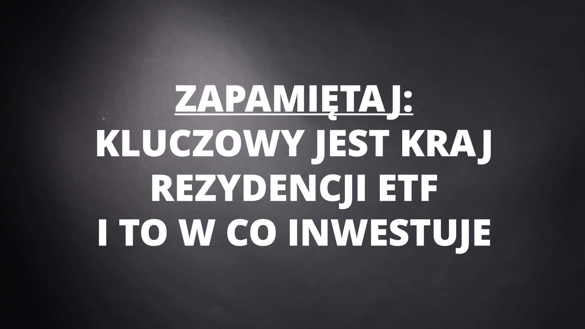 Jak inwestować w ETF