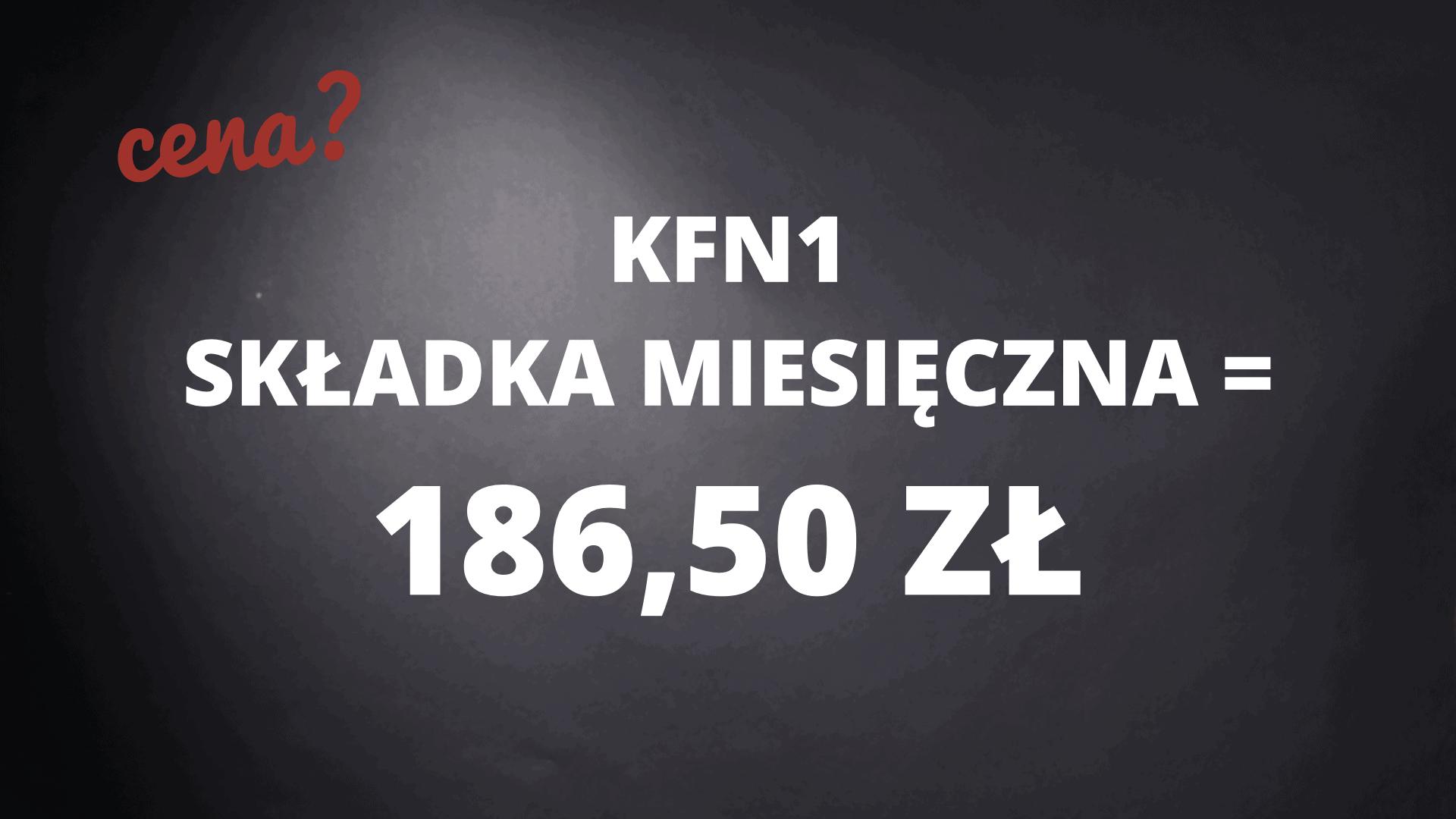 KFN1 składka miesięczna